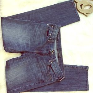 EUC Sweet Straight Distressed Lucky 🍀 Brand Jeans